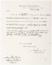 1862 Lincoln fires a Stockton Democratic political hack