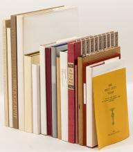 Sixteen volumes from the Book Club of California