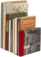 Twelve volumes from the Book Club of California