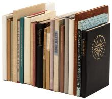 Twenty volumes from the Book Club of California