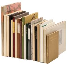 Twenty-one volumes from the Book Club of California