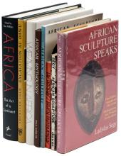 Eight volumes on the art of Africa