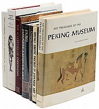 Seven volumes about arts and antiques of Asia