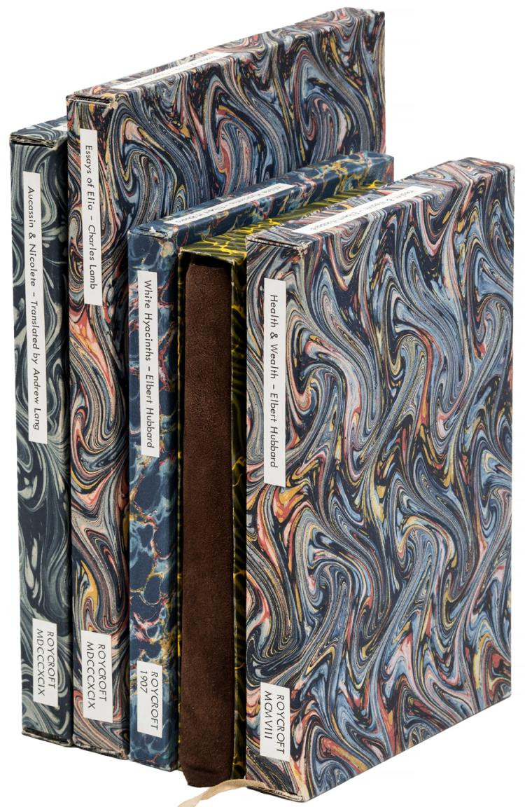 Eight volumes published by the Roycrofters