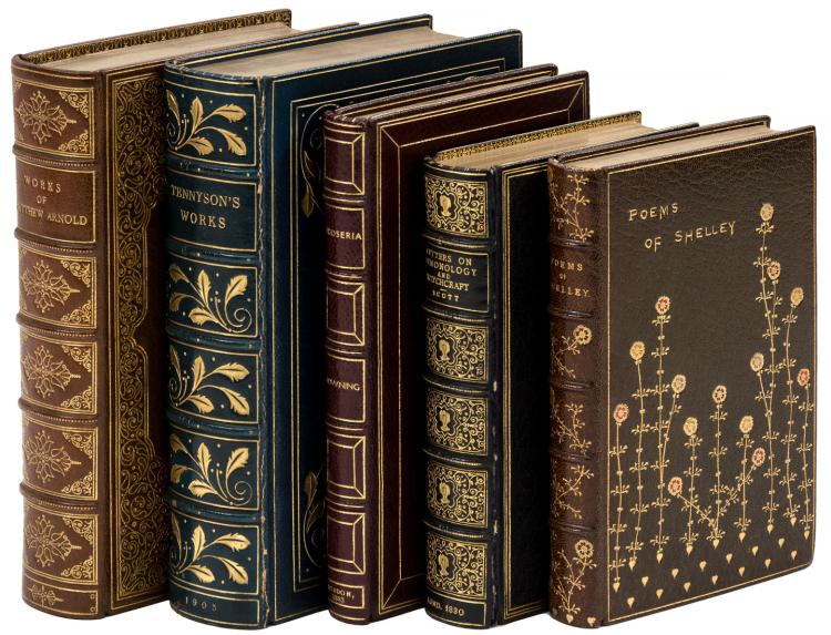Five volumes in full morocco bindings