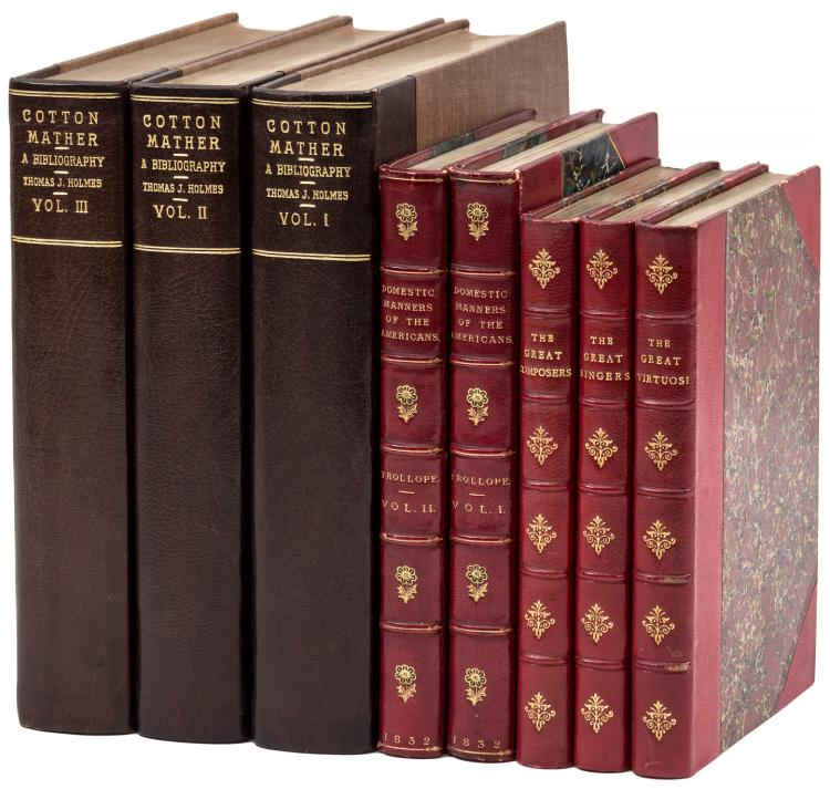Three small sets, finely bound