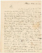 Archive of 44 Autograph Letters Signed written to Dr. Jacob Bigelow of Boston by 20 notable correspondents, which illuminate the foundations of Botanical Science in America
