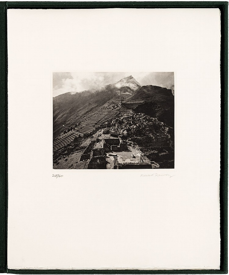 The Macchu Picchu Suite - One of 60 suites of photogravures