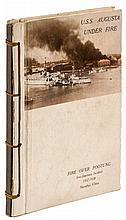 U.S.S. Augusta Under Fire. Sino-Japanese Incident 1937-1938, Shanghai, China