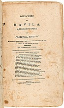 Discourses on Davila. A Series of Papers on Political History. Written in the Year 1790, and Published in The Gazette of the United States. By an American Citizen