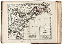 Institutions géographiques, ou Description générale du globe terrestre,... suivi d'un Atlas élémentaire composé de 31 cartes, lequel comprend la carte générale de la France Ancienne & de la Nouvelle... A l'usage du jeune républicain