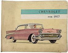 Chevrolet for 1957 - Full color trade catalog