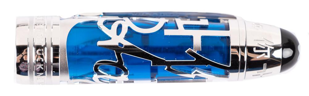 MONTBLANC Platinum-Plated UNICEF Skeleton Fountain Pen