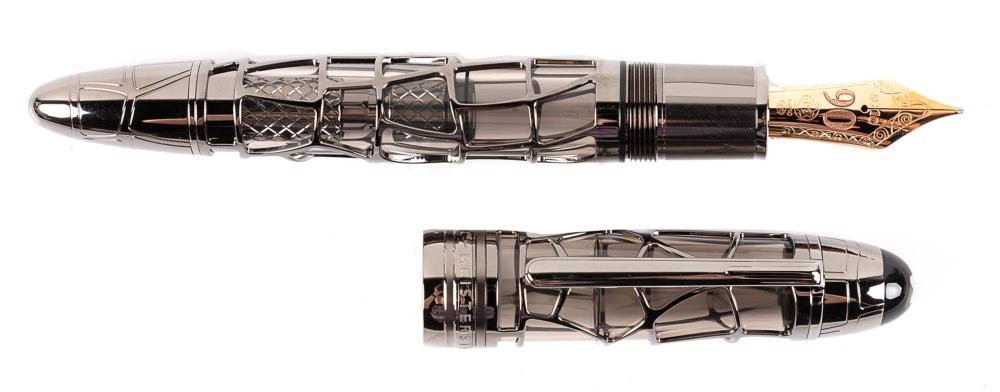 MONTBLANC Meisterstuck 90 Years SKELETON Fountain Pen