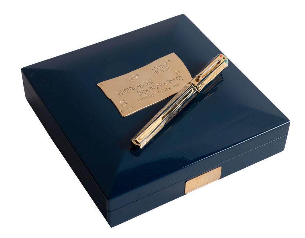 MONTBLANC Artisan Ed: HUNDERTWASSER Ltd 100 Fountain Pen