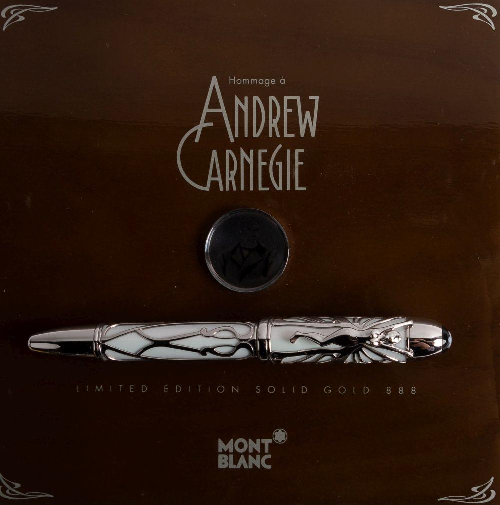 MONTBLANC Andrew CARNEGIE Patron 888 Fountain Pen