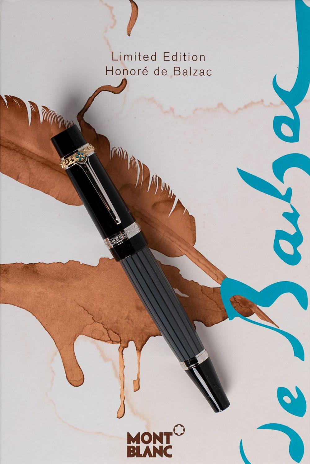 MONTBLANC Writers Series BALZAC Fountain Pen