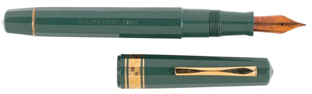 OMAS Italia '90 Green Resin Fountain Pen