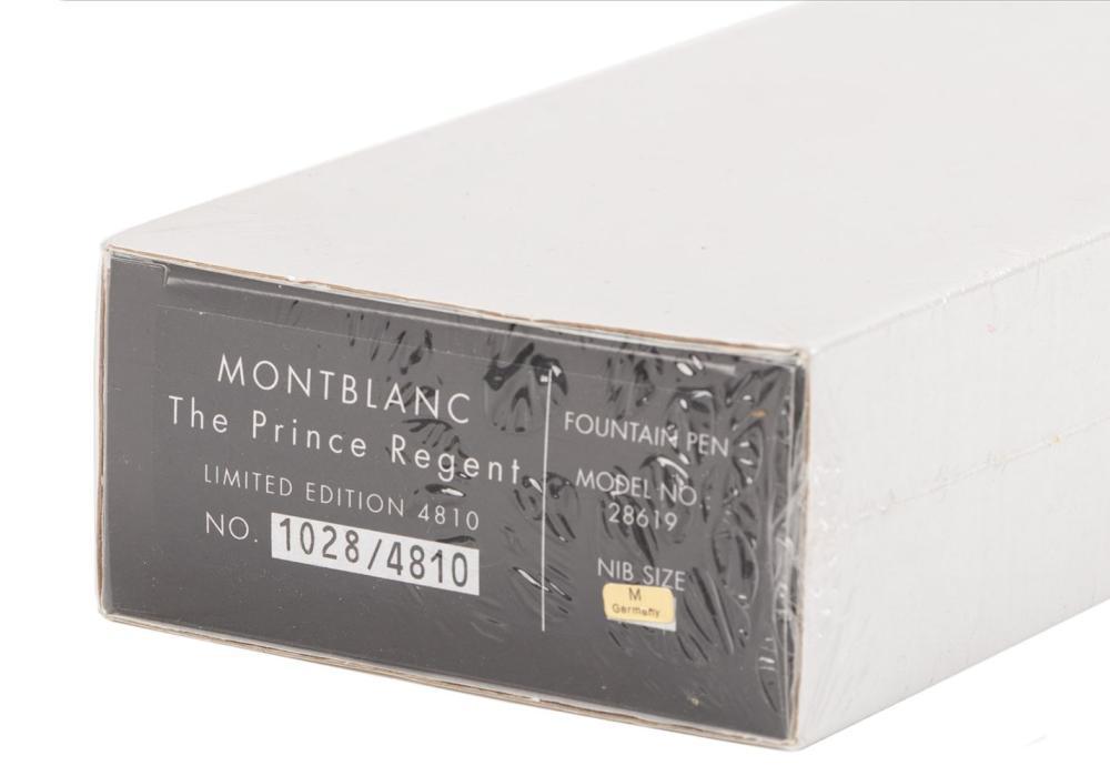 MONTBLANC Patron 4810: PRINCE REGENT Fountain Pen * SEALED