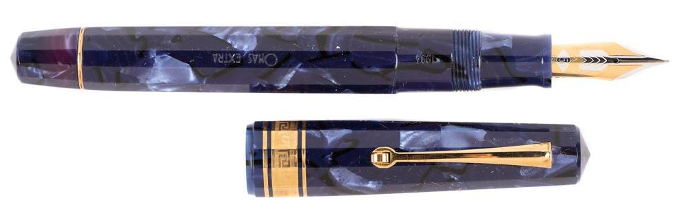 OMAS Blue Celluloid Fountain Pen