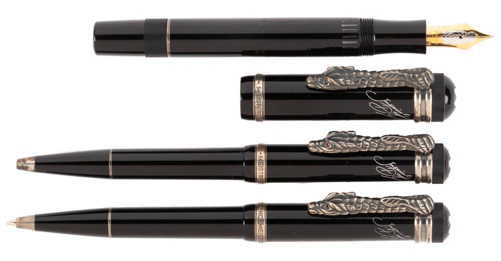 MONTBLANC Imperial DRAGON Ltd Set of Three Instruments