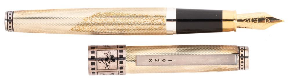 COLIBRI: Mickey Mouse Sterling Silver Ltd Ed Fountain Pen