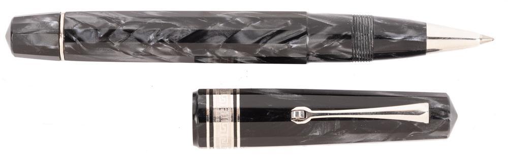 OMAS Grey High-Tech Rollerball Pen