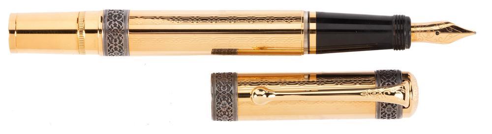 AURORA 75th Anniversary VERMEIL Fountain Pen