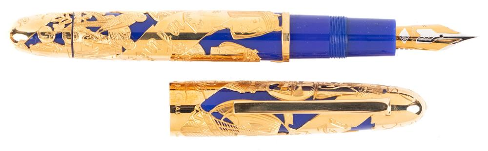 OMAS 18K Gold ALMIRANTE Ltd Ed. Fountain Pen