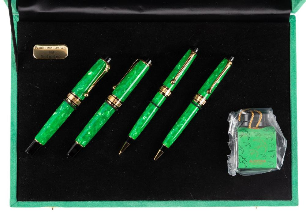 AURORA Ltd Ed PRIMAVERA Set of Four Writing Instruments