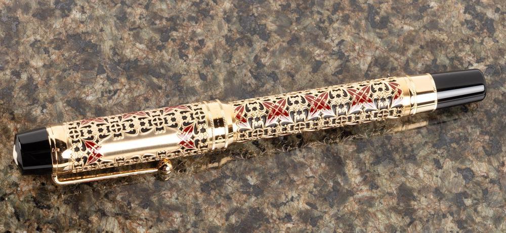 MONTBLANC Patron 4810: SEMIRAMIS Fountain Pen