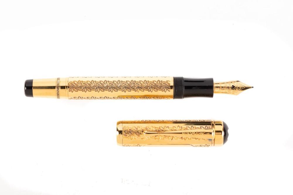 MONTBLANC Patron 4810: LOUIS XIV Fountain Pen