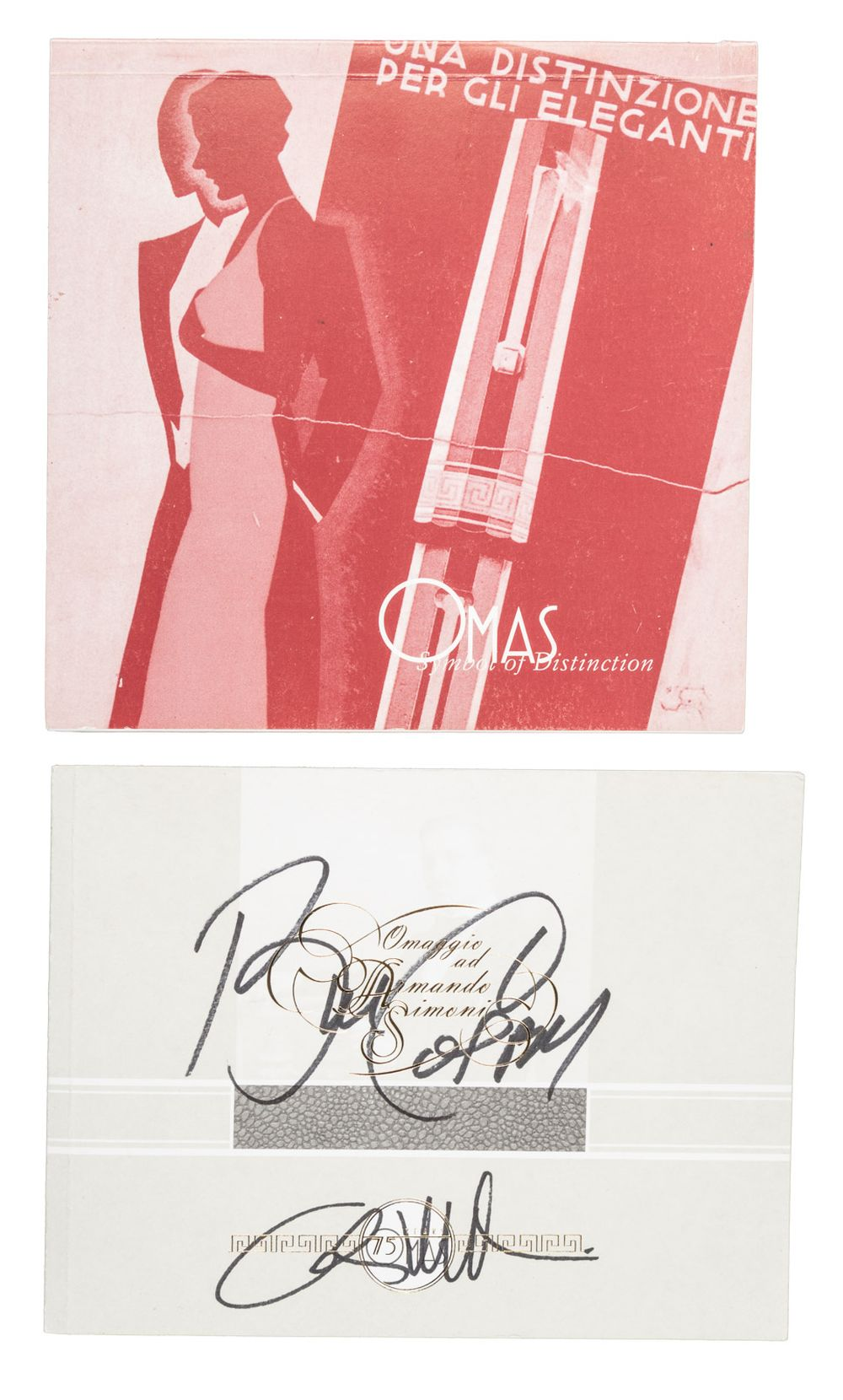 OMAS 75th Anniversary Booklet SIGNED by COSBY