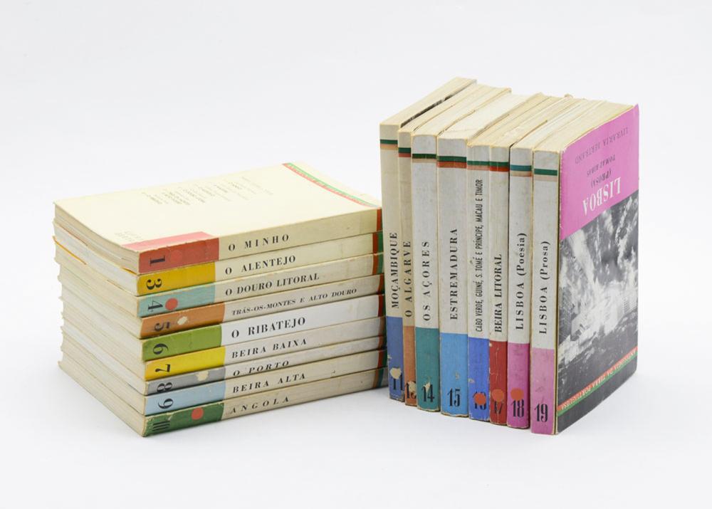 ANTOLOGIA DA TERRA PORTUGUESA, 16 vols. brs.
