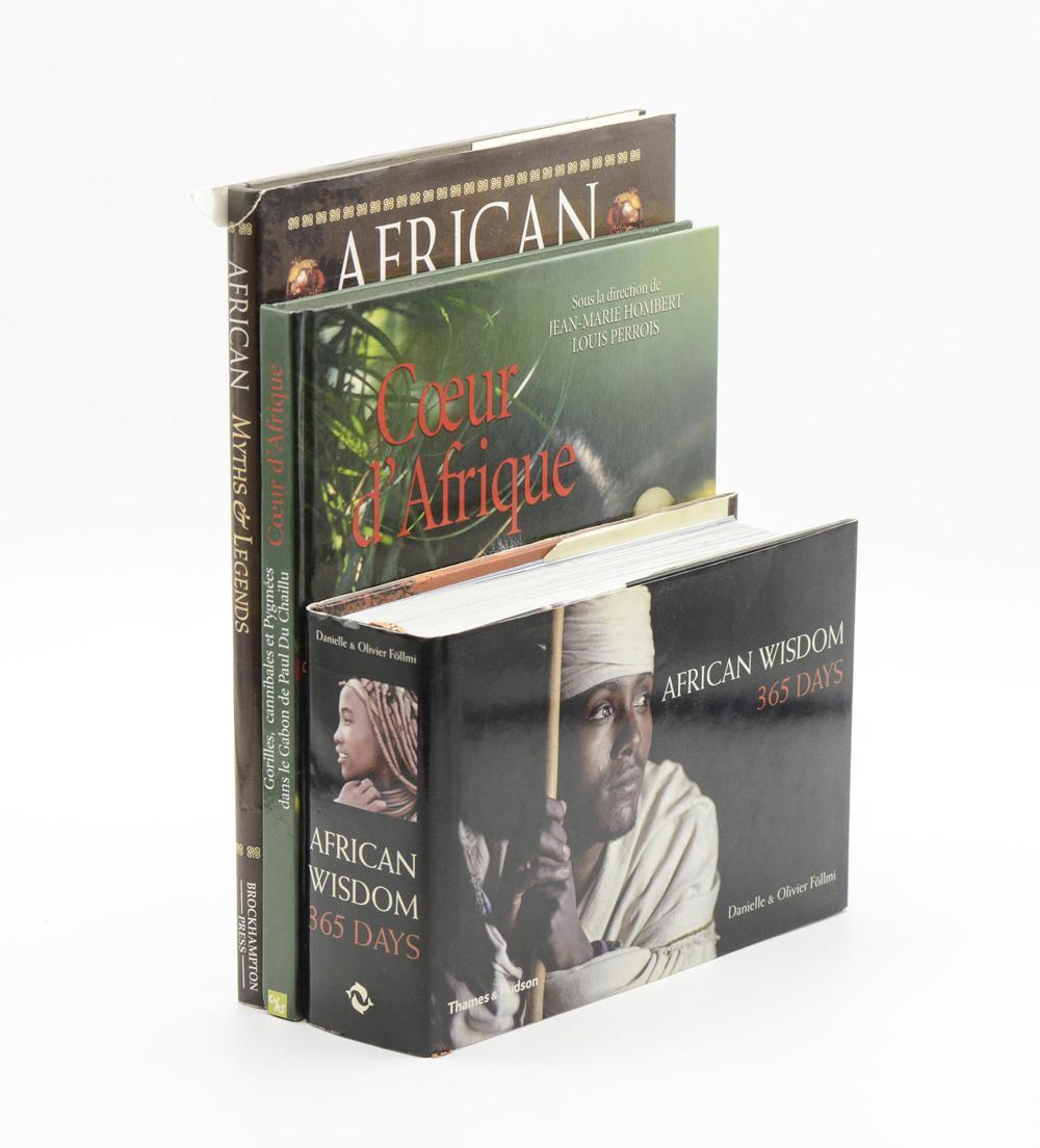 AFRICA, 3 vols, enc.