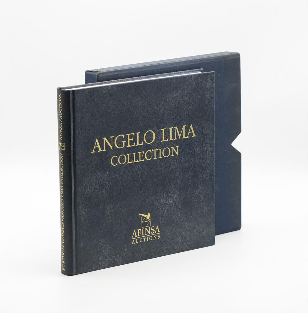 ANGELO LIMA COLLECTION: Stamp Auction...1 vol. enc