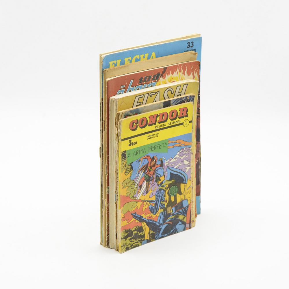 BANDA - DESENHADA. Lote de 8 vols. brs.