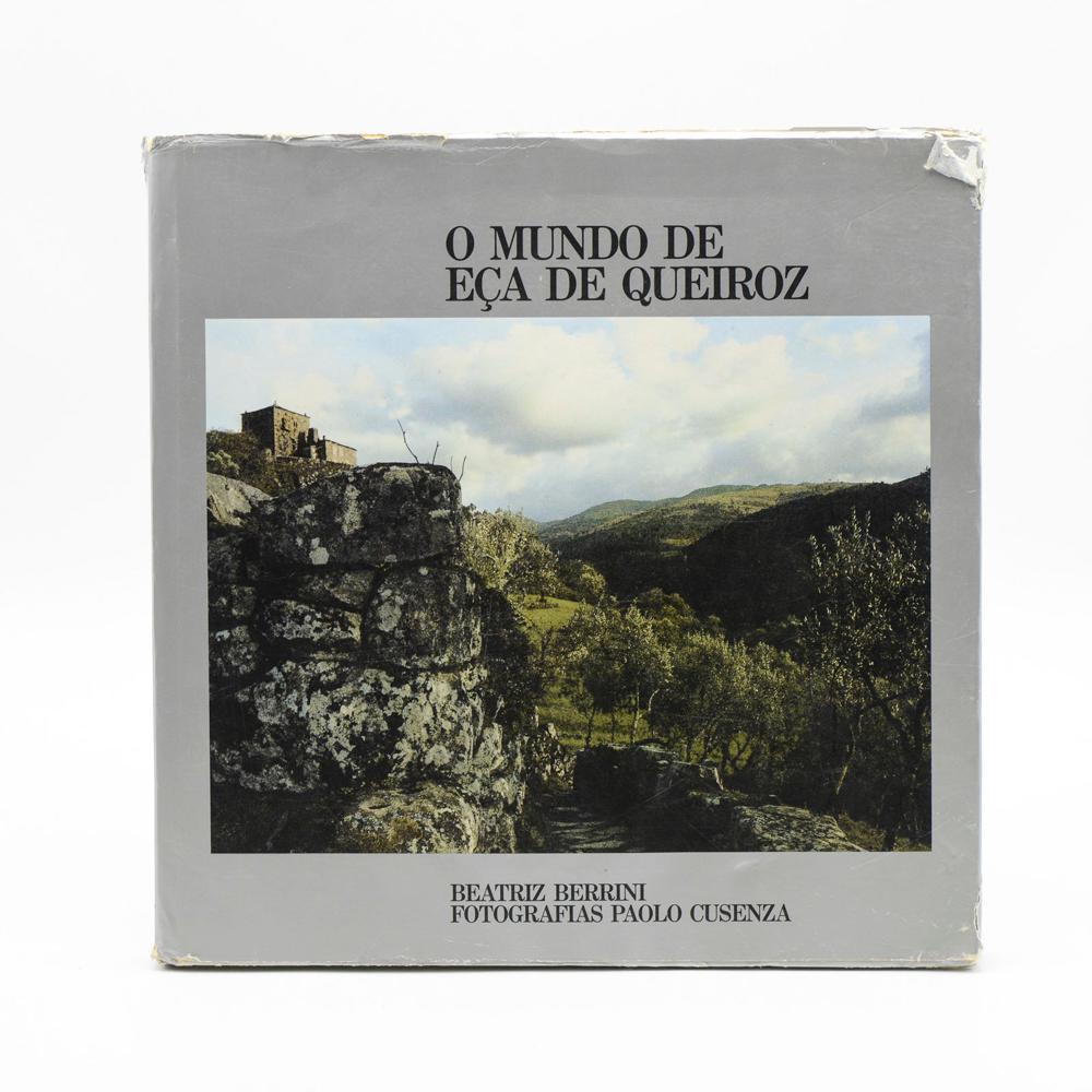 BERRINI. O MUNDO DE EÇA DE QUEIROZ, 1 vol. enc