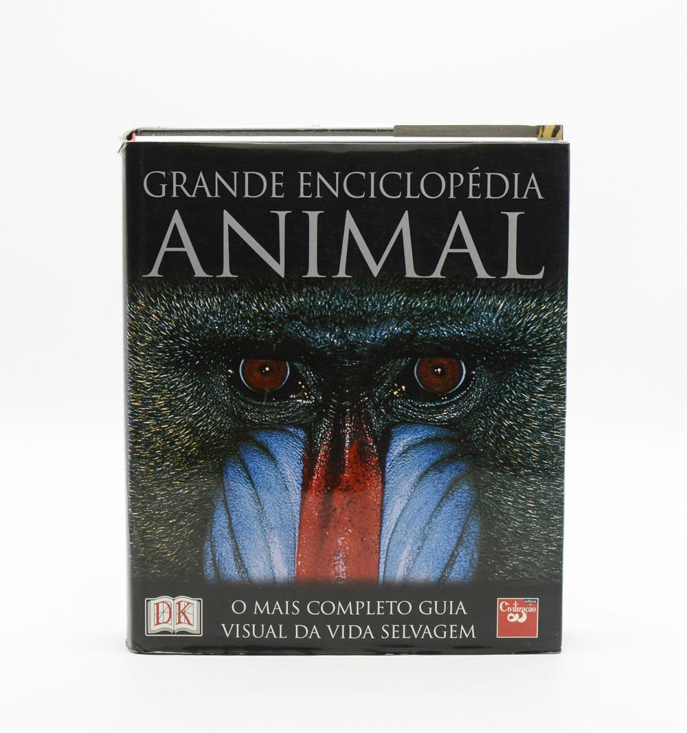 BURNIE, GRANDE ENCICLOPÉDIA ANIMAL, 1 vol. enc.