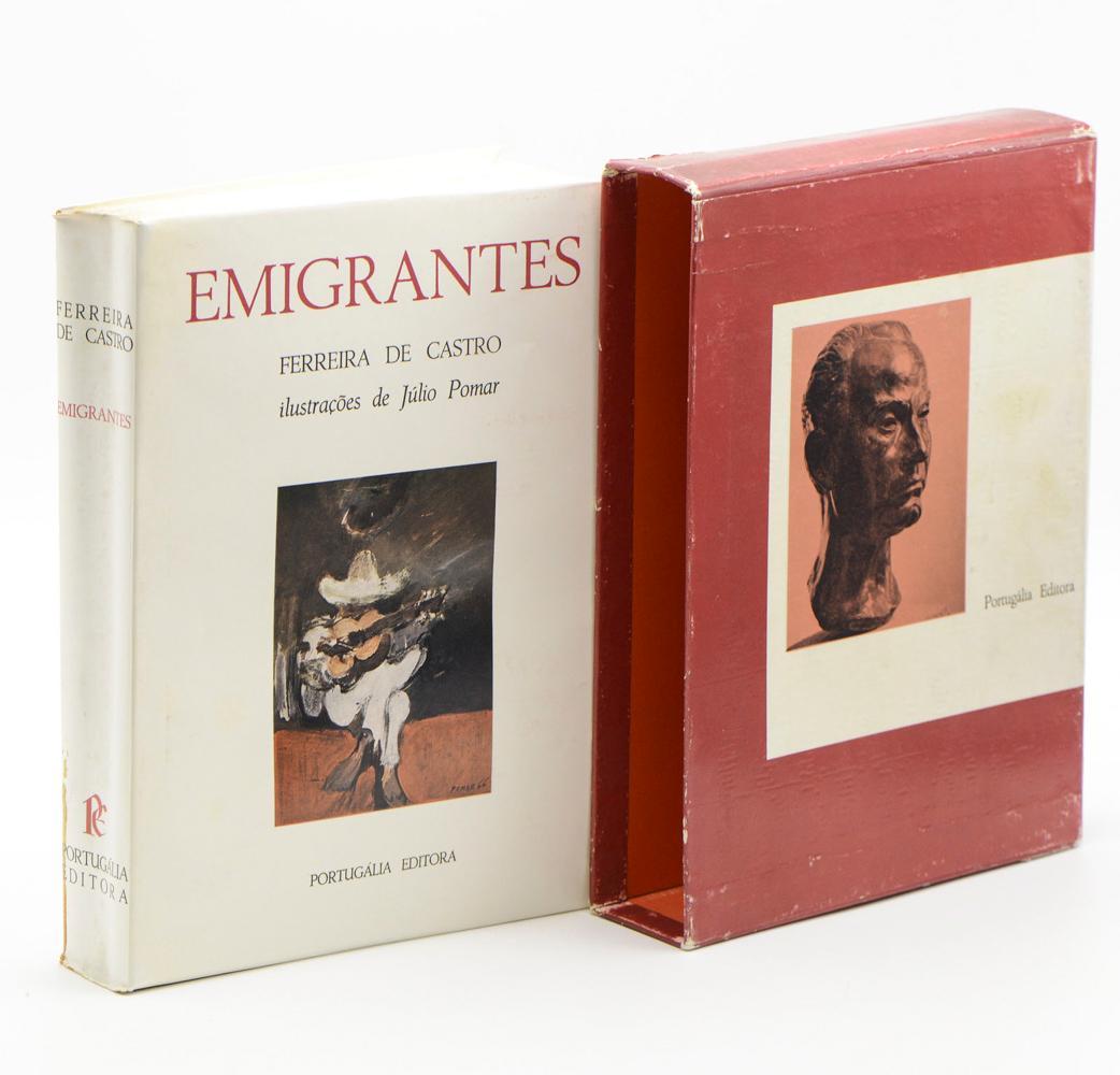 CASTRO, Ferreira de. EMIGRANTES, 1 vol. br.