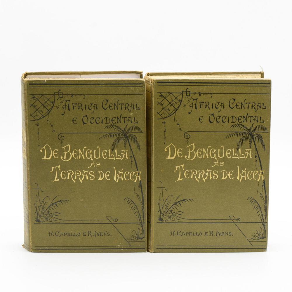 CAPELLO; IVENS, DE BENGUELLA ÀS..., 2 vols. encs.