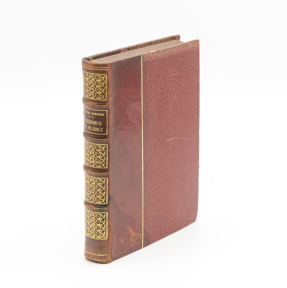 QUEIROZ. DICCIONARIO DE MILAGRES, 1ª ed., 1 vol.