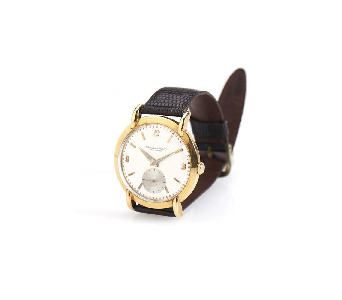 International Watch Co em ouro, 750%