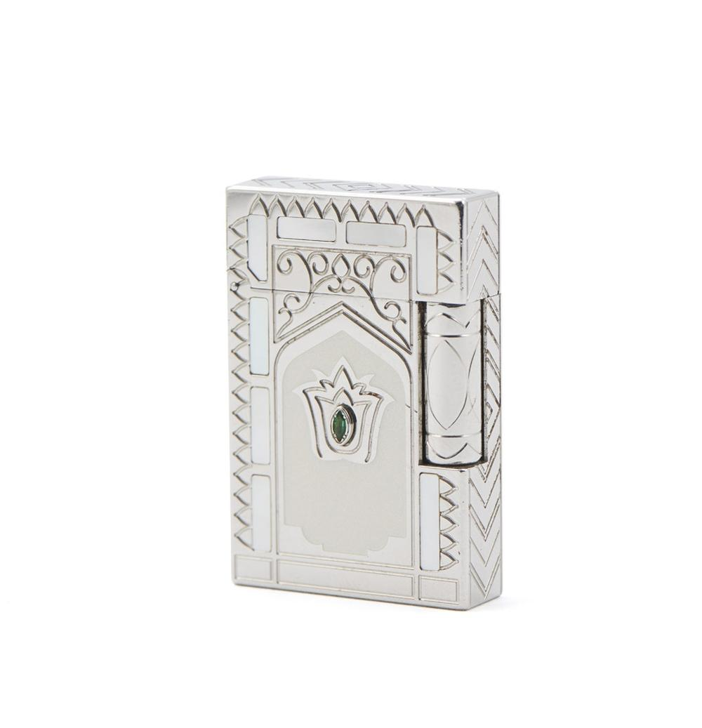 Isqueiro em metal Dupont Taj Mahal