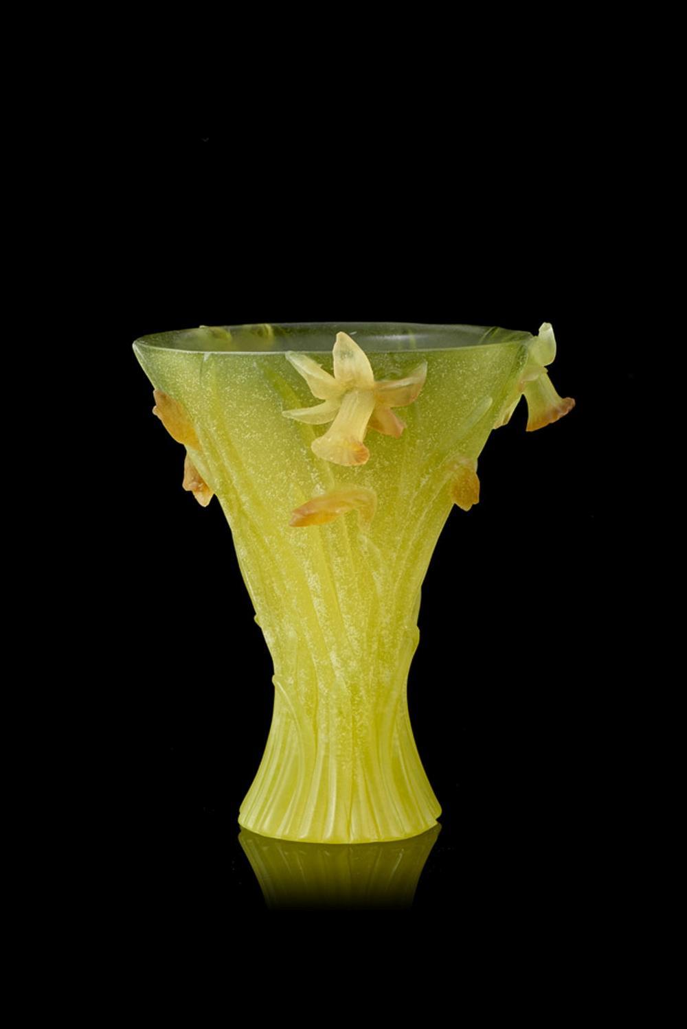 Jarra em pasta de vidro francês DAUM