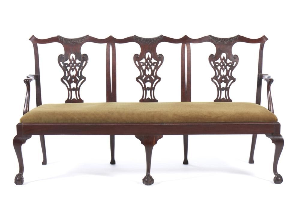 Canapé de 3 lugares estilo D. João V