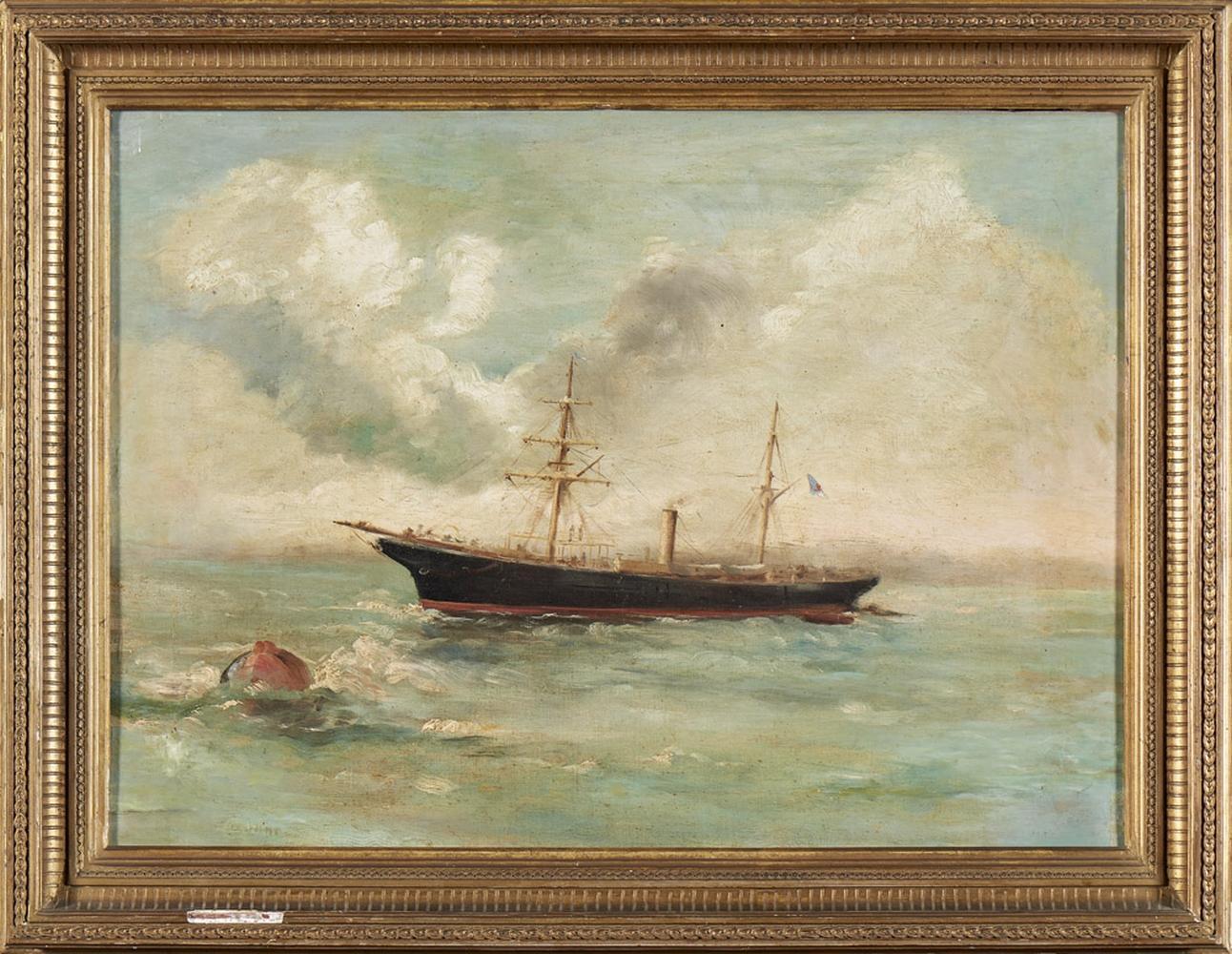 Escola portuguesa do séc. XIX, óleo s/ tela, 39x54