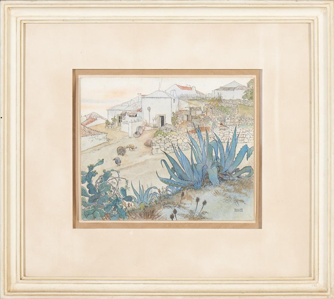 RAQUEL ROQUE GAMEIRO, Técnica mista, 25,5x30,5 cm.