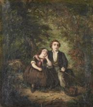 Autor n/identificado, Óleo s/tela, 53 x 45, cm.