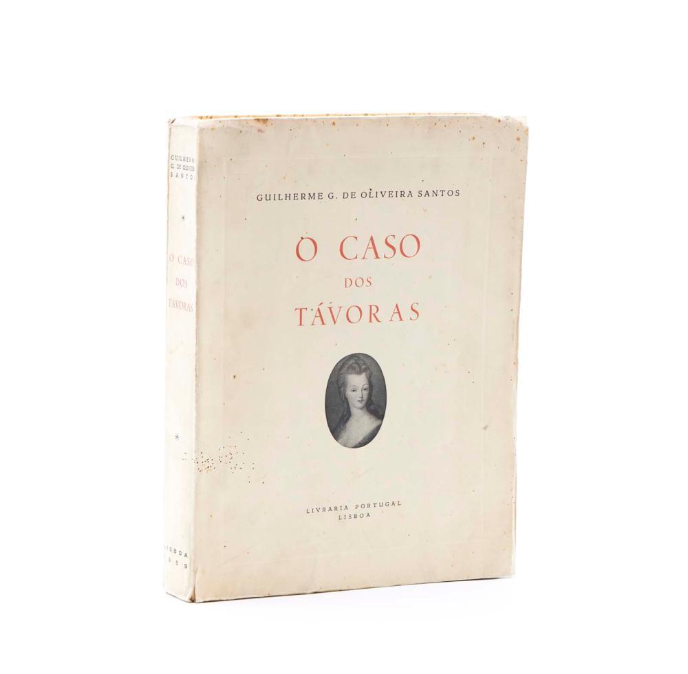 SANTOS. O CASO DOS TÁVORAS, 1 vol. br.
